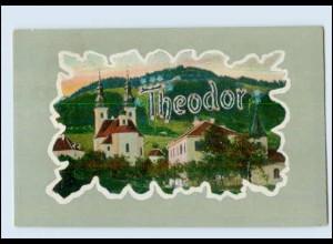 """N9676/ Namen AK """"Theodor"""" ca.1910"""