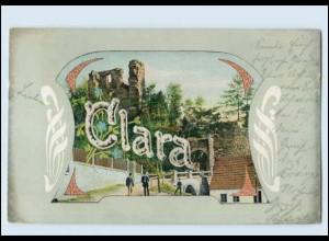 "N9669/ Namen AK ""Clara"" 1903"