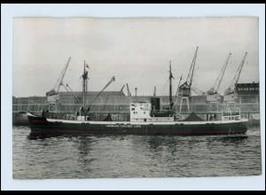 DP156/ Frachter Handelsschiff Hamburg-Chicago-Linie AK ca.1955
