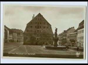 N9707-027./ Zittau Neustadt mit Marstall Foto AK 1930