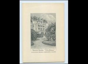 N9864/ Lausanne Villa Albion Pension-Famille AK Kt. Waadt ca.1912