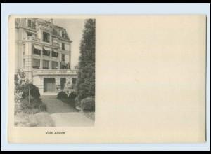 N9863/ Lausanne Villa Albion Pension-Famille AK Kt. Waadt ca.1912