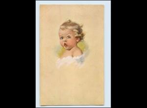 "Y3108/ Fialkowska AK M ""Morgenmusik"" Kind weint ca.1920"