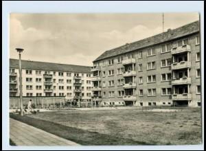 T124-067./ Wolfen Nord Franz-Mehring-Straße AK 1966
