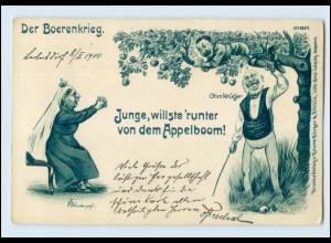 T209/ Buren Boerenkrieg schöne Litho Ak 1900