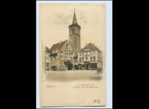 T396-990./ Erfurt St. Aegidienkirche AK 1899