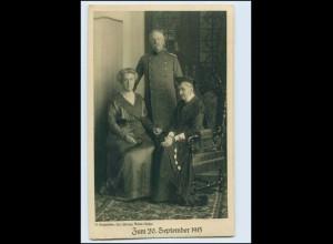 T378/ Badischer Opfertag Adel Baden 1915 WK1