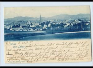 T574-027./ Gruß aus Löbau 1899 AK
