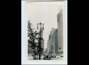 DP329/ New York Autos Foto AK ca.1950 USA