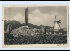 Y3280/ Dybbel Mühle Windmühlr Nordschleswig AK 1933