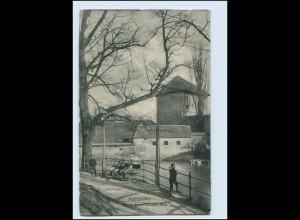 Y3372/ Augsburg Partie beim Oblater Wall 1908 AK