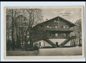 Y3486/ Schlesien Bad Salzbrunn Schweizerei AK