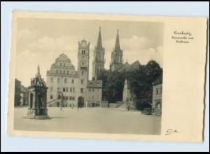 Y3458/ Oschatz Neumarkt mit Rathaus 1932 Foto AK