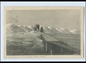 T827-3050/ Steinhude Eisberge Winter 1922 AK