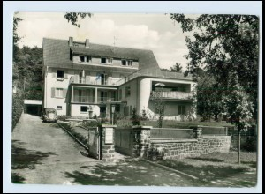 Y3292/ Bad Salzhausen Haus Bergfried VW Käfer ca.1965 AK
