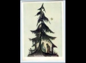 Y3249/ B. Hummel Nr. 5429 Verlag: Müller Weihnachten AK ca.1955
