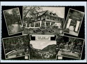 "Y3374/ Bad Berneck Waldkurhaus ""Waldlust"" 1959 AK"