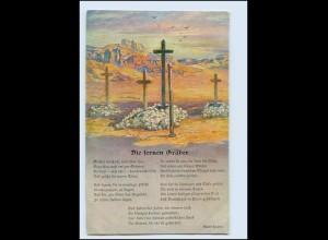 Y3875/ Kolonialkriegerdank AK Dt. Soldatengräber in Südwestafrika Kolonien