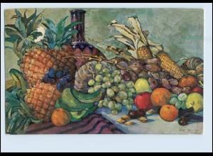 Y3892/ Kolonialkriegerdank AK Früchte aus den Kolonien ca.1915