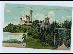 Y3744/ Görlitz Gruß von der Landeskrone 1913 AK