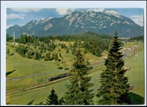 T1080/ Deutsche Bundesbahn AK Linie Garmisch - Mittenwald Eisenbahn