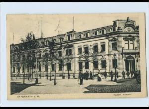Y4048/ Offenbach Kaiserl. Postamt 1918 AK