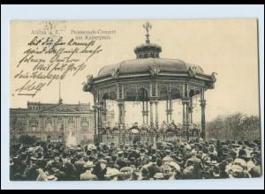 Y4072/ Hamburg Altona Promenade-Konzert am Kaiserplatz 1912 AK