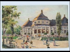 Y3978/ München Gewerbeschau 1912 Privatganzsache AK