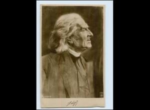 Y3977/ Franz Liszt Komponist NPG Foto AK ca.1910