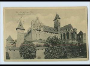 Y4093/ Westpreußen Marienburg Hochschloss Ostseite 1916 AK