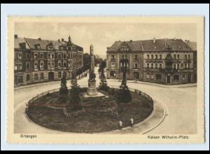 Y4067/ Erlangen Kaiser Wilhelm-Platz 1925 AK