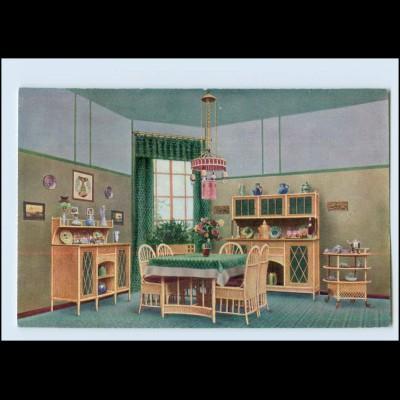 Y3987/ Coburg -S. Derichs & Sauerteig Möbel Rohrmöbel Reklame ca.1912