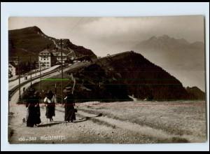 Y4128/ Schweiz Rigistaffel Emaille-Photo 1911 Foto AK