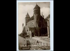 Y4124/ Schweiz Schloss Rapperswil am Zürichsee Emaille-Photo 1911 Foto AK