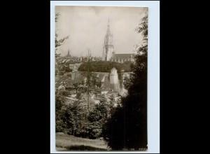 Y4121/ Schweiz Bern Emaille-Photo 1911 Foto AK