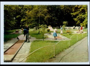 Y4106/ Minigolf Golfplatz in Bad Hersfeld AK