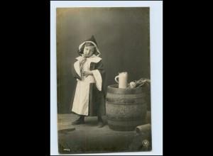 T1036/ Münchener Kindl NPG Granotypie Foto AK Bier Bierkrug Bierfaß 1904
