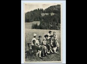 T1838/ Trachten im Kleinwalsertal Vorarlberg Foto AK 1939