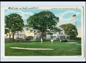 T1332/ Golf Country Club, Rehoboth Beach Del. USA AK ca.1925