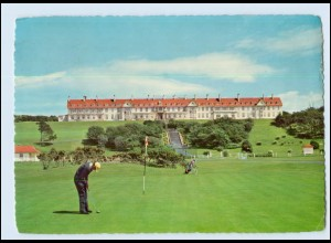 Y4011/ Ayrshire Turnberry Hotel Ailisa Golf Course AK Großbritannien 1969