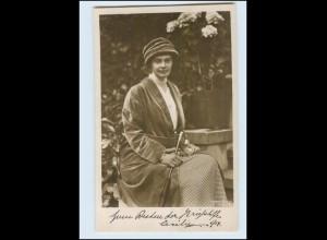 T1885/ Kronprinzessin Cecilie Kriegs-Wohlfahrtskarte NPG Foto AK ca.1914