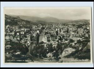 T1651/ Bosnien Sarajevo Panorama 1929 Foto AK