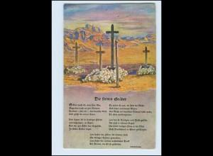 Y4388/ Kolonialkriegerdank Soldatengräber in Südwestafrika Kolonien AK ca.1915