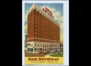T1638/ Nashville Tenn. Sam Davis Hotel AK