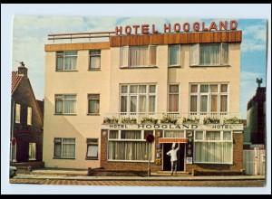 T1650/ Niederlande Zandvoort Hotel Hoogland AK