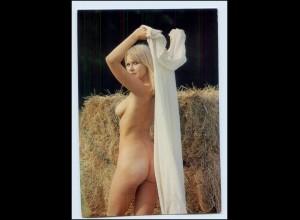 Y4399/ Frau nackt Erotik Akt schöne AK ca.1975