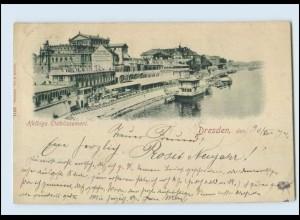 T1687-01./ Dresden Helbigs Etablissement 1897 AK