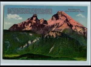 Y4498/ Berge mit Gesichter Berchtesgaden AK ca.1912