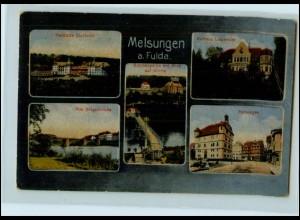 T2288-3590/ Melsungen a.d. Fulda 1918 AK