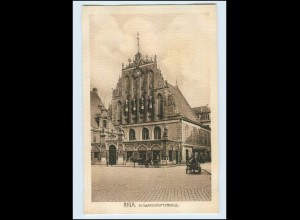 T2461/ Riga Schwarzhäupterhaus Lettland AK ca.1912